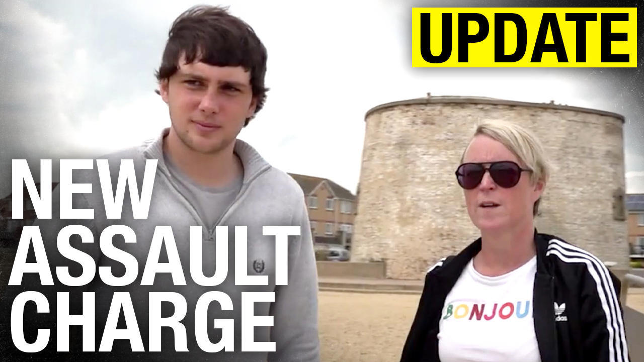 U.K. police add new ASSAULT charge to mum cuffed on the beach for playing with family