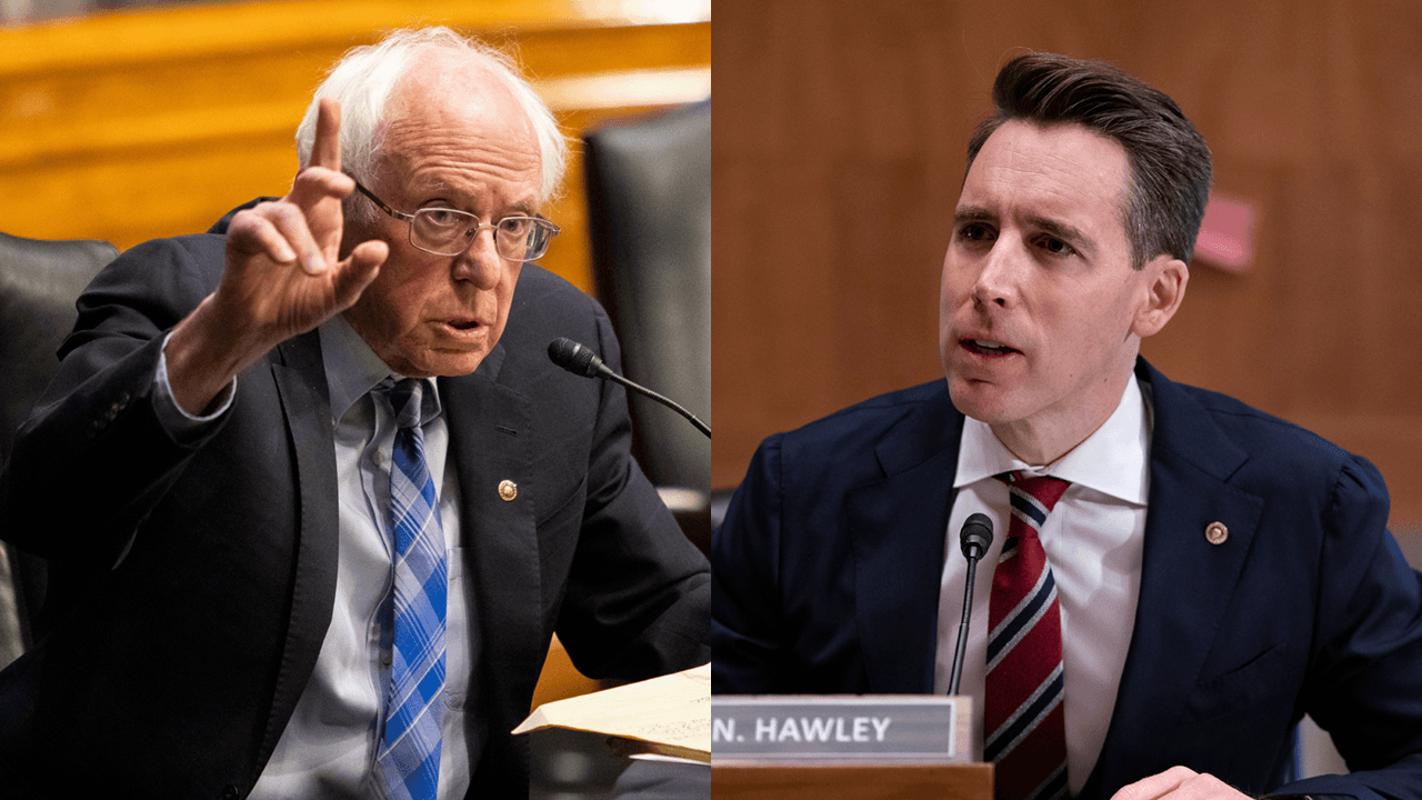 Josh Hawley, Bernie Sanders team up to criticize proposed $10 billion bailout for Jeff Bezos-owned space company