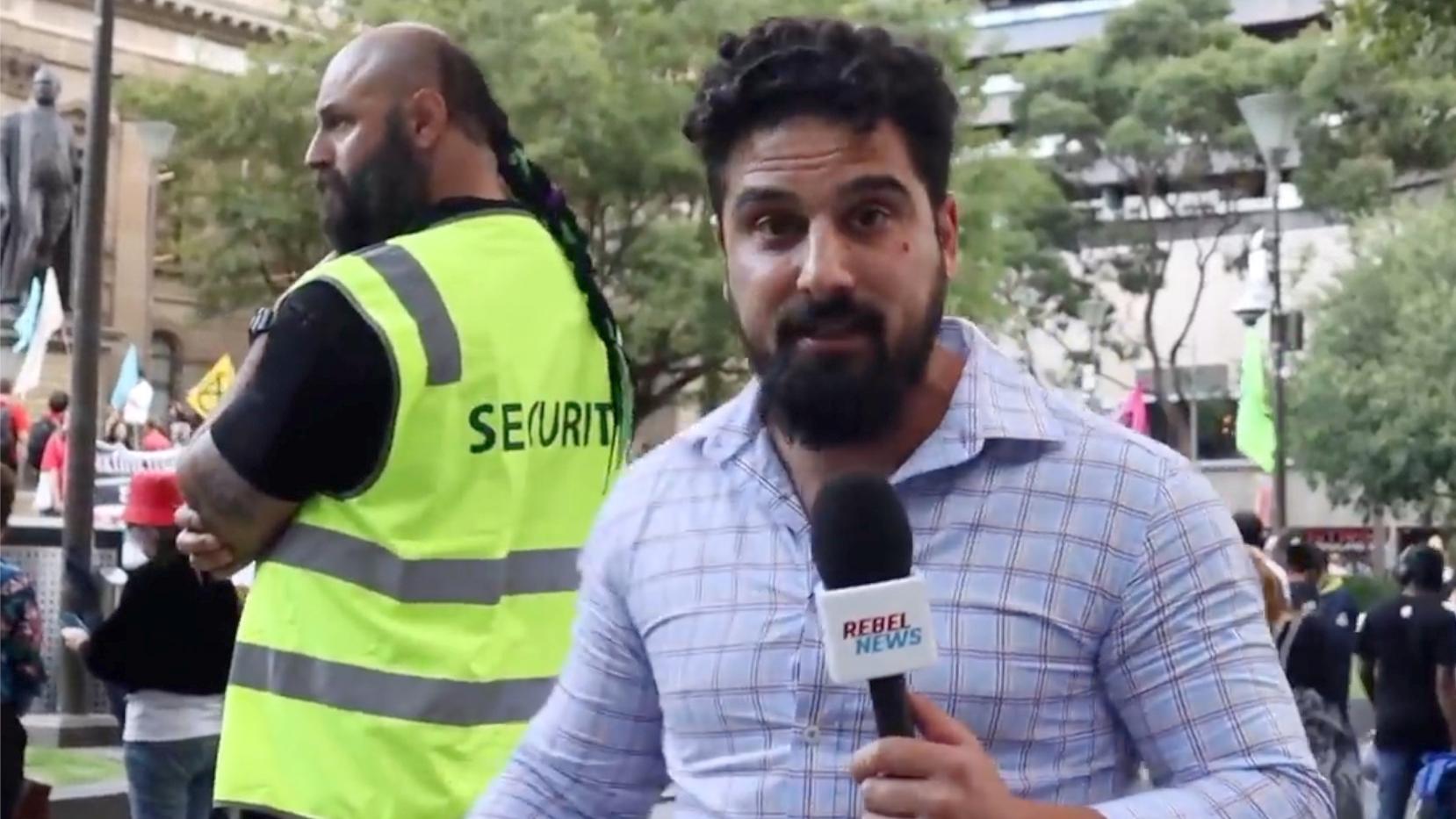 Security for Avi Yemini