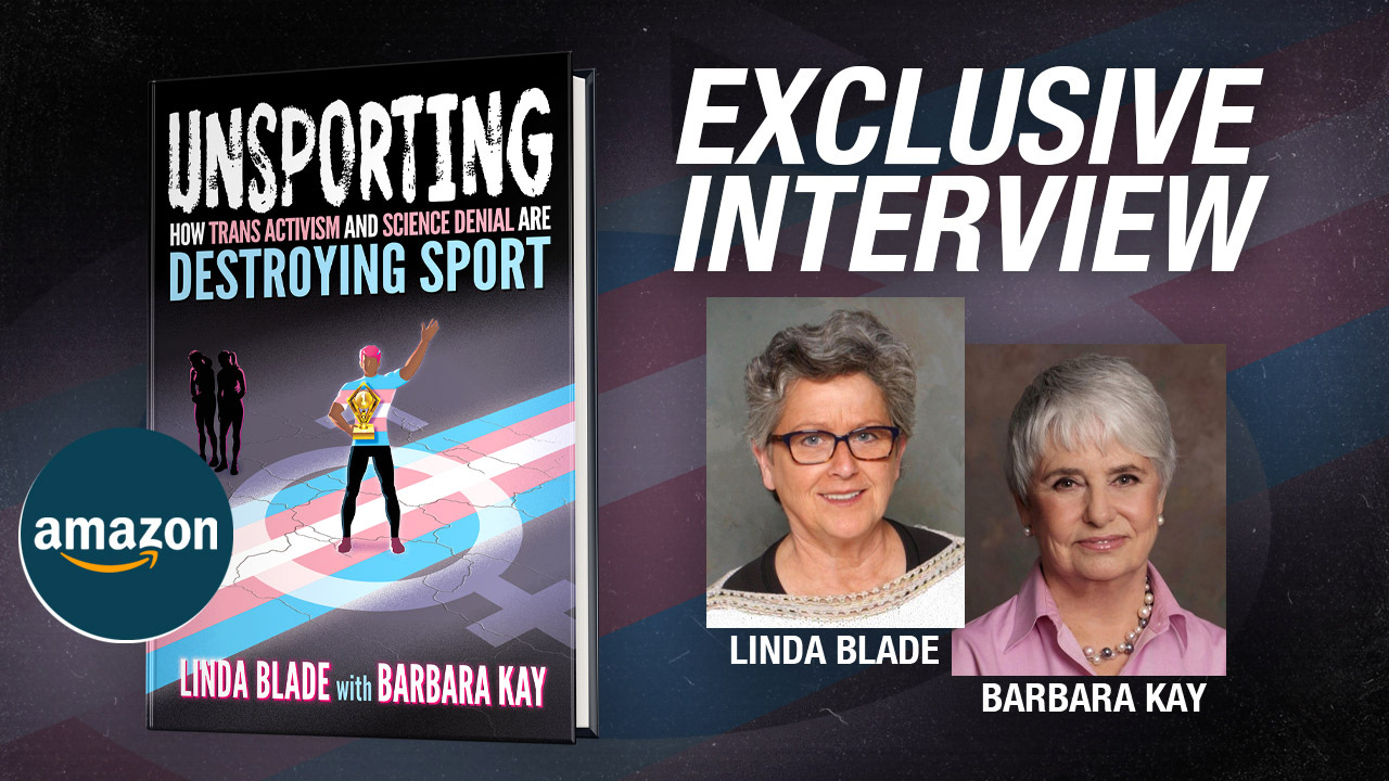 Get it before it's banned: New book about trans athletes taking over women's sports