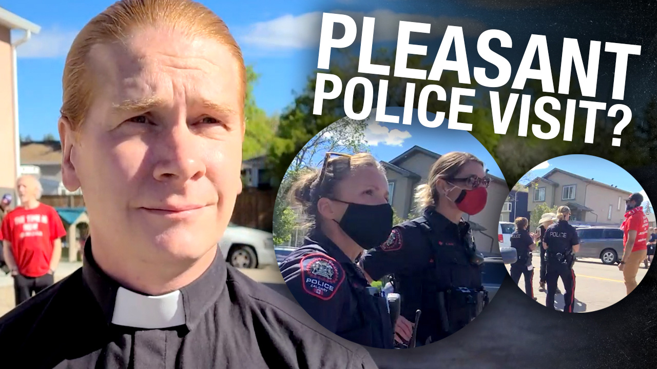 No arrest for Pastor Artur's replacement following last weekend's police warning