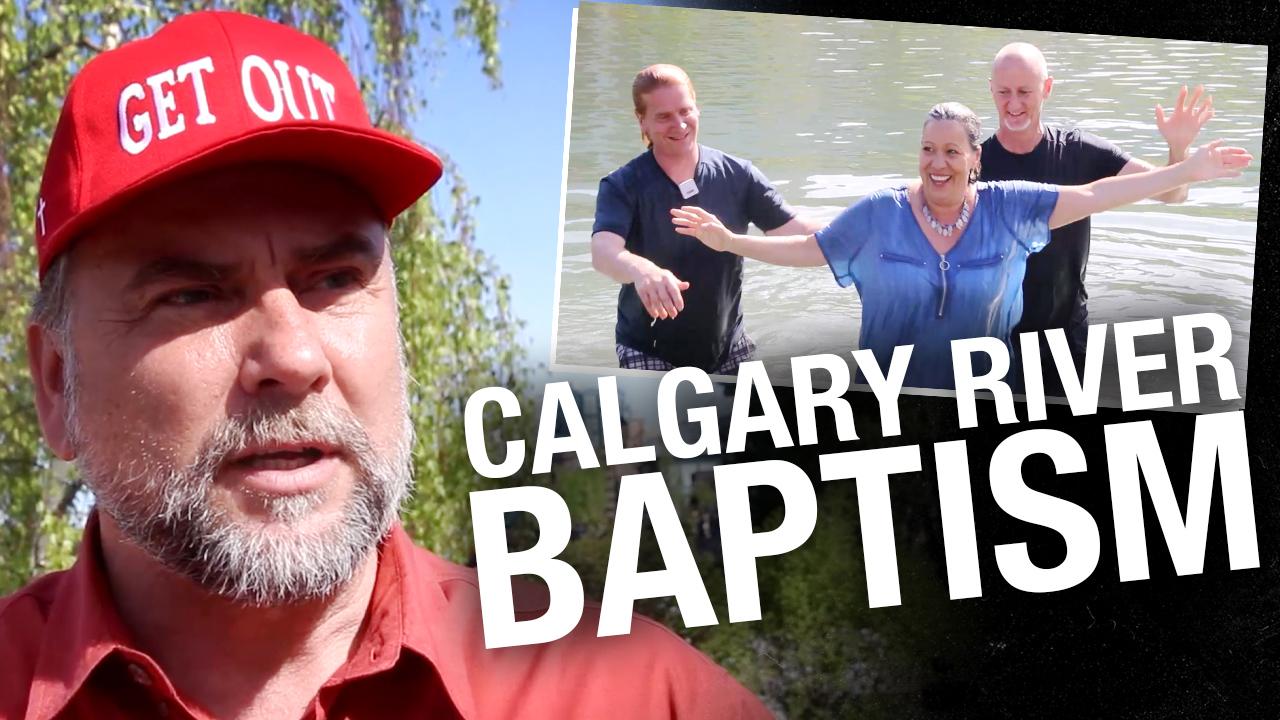 POWERFUL: Pastor Art returns to Street Church to celebrate public baptism in Calgary