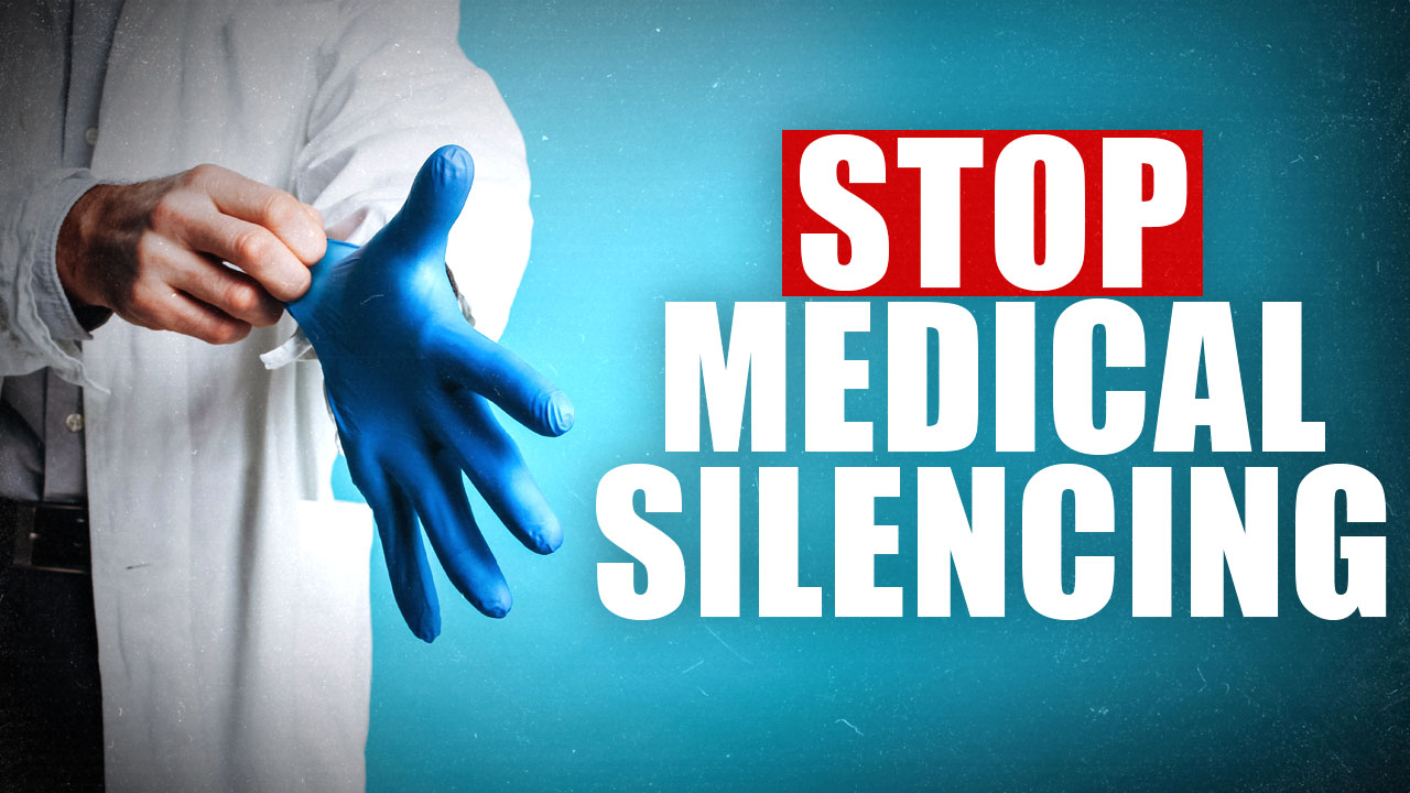 Stop Medical Silencing! Remove the political muzzle from medical professionals