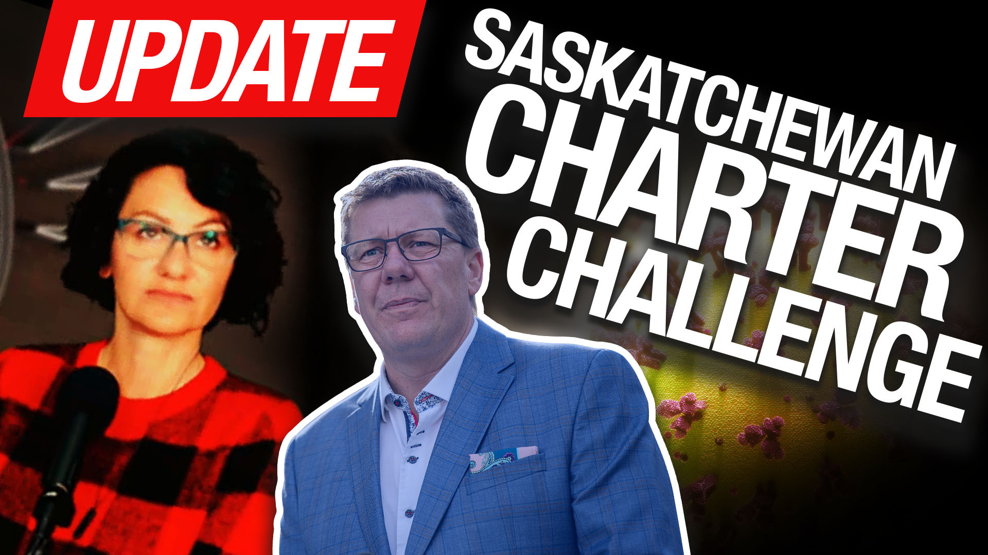 Help us lift the lockdown in Saskatchewan! We're suing for a breach of Charter rights