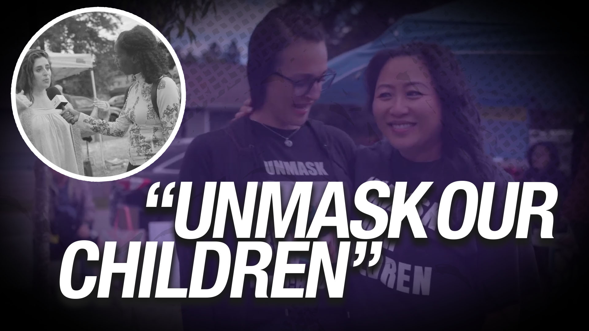 Wear a mask or be denied an education: B.C. parents host Unmask our Children rally in protest