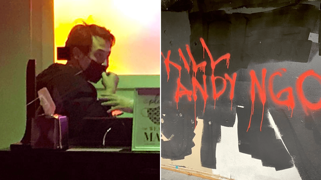 """""""Antifa wants me dead"""": Journalist Andy Ngo says he was chased, beaten by militant leftist mob"""