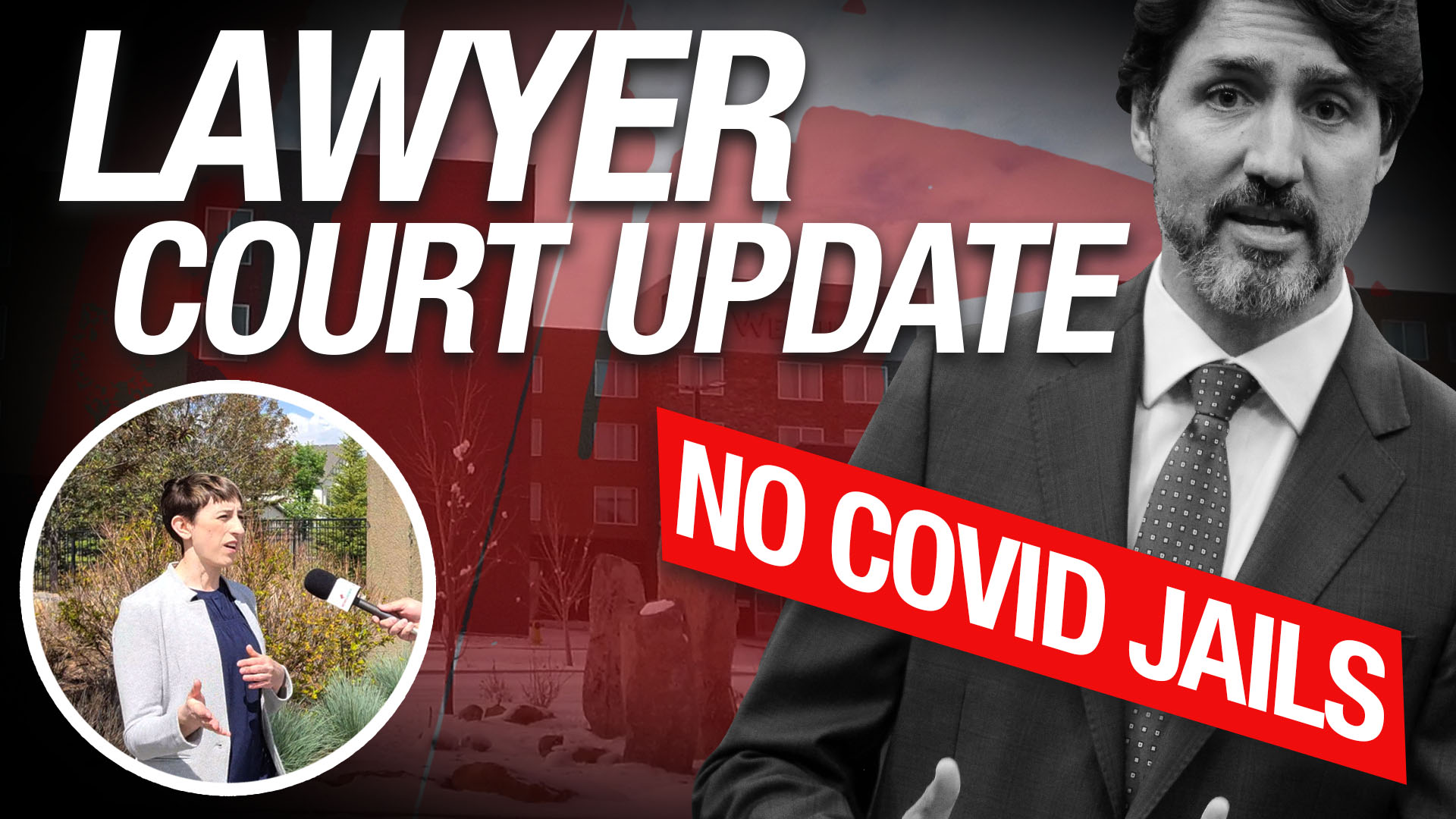 Update: Rebel News lawyer on legal challenge against COVID jails