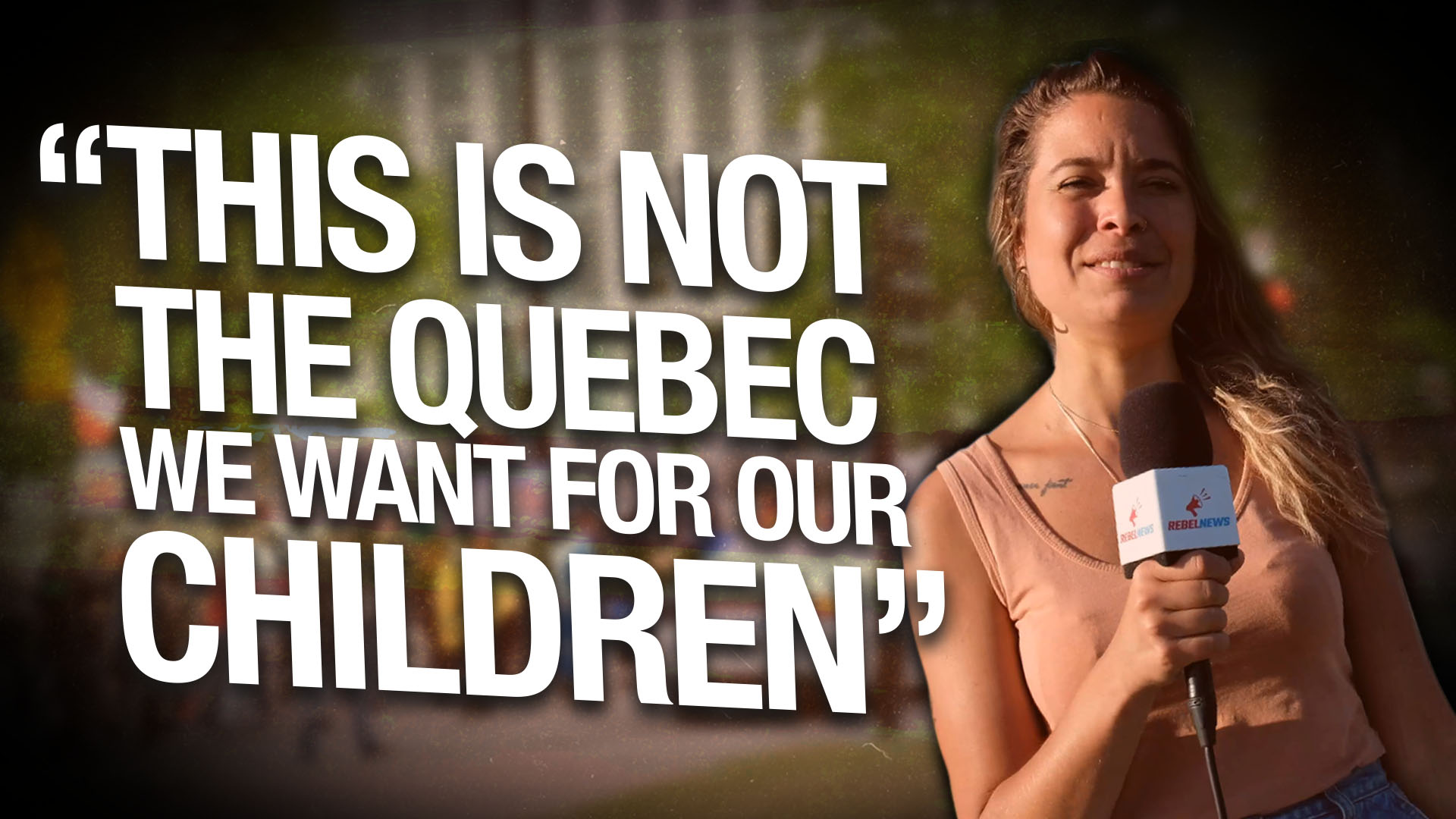 Quebec protesters demand public debate with health professionals and an end to media censorship