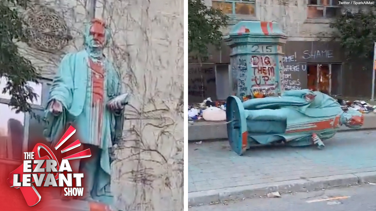 Why does the left get a pass on tearing down statues they don't like?