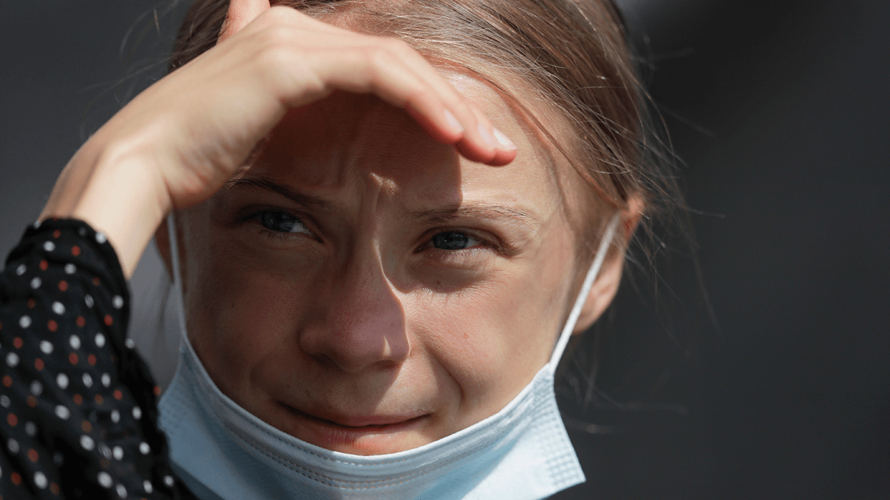 Greta Thunberg returns with new series of videos warning about world running out of land and food