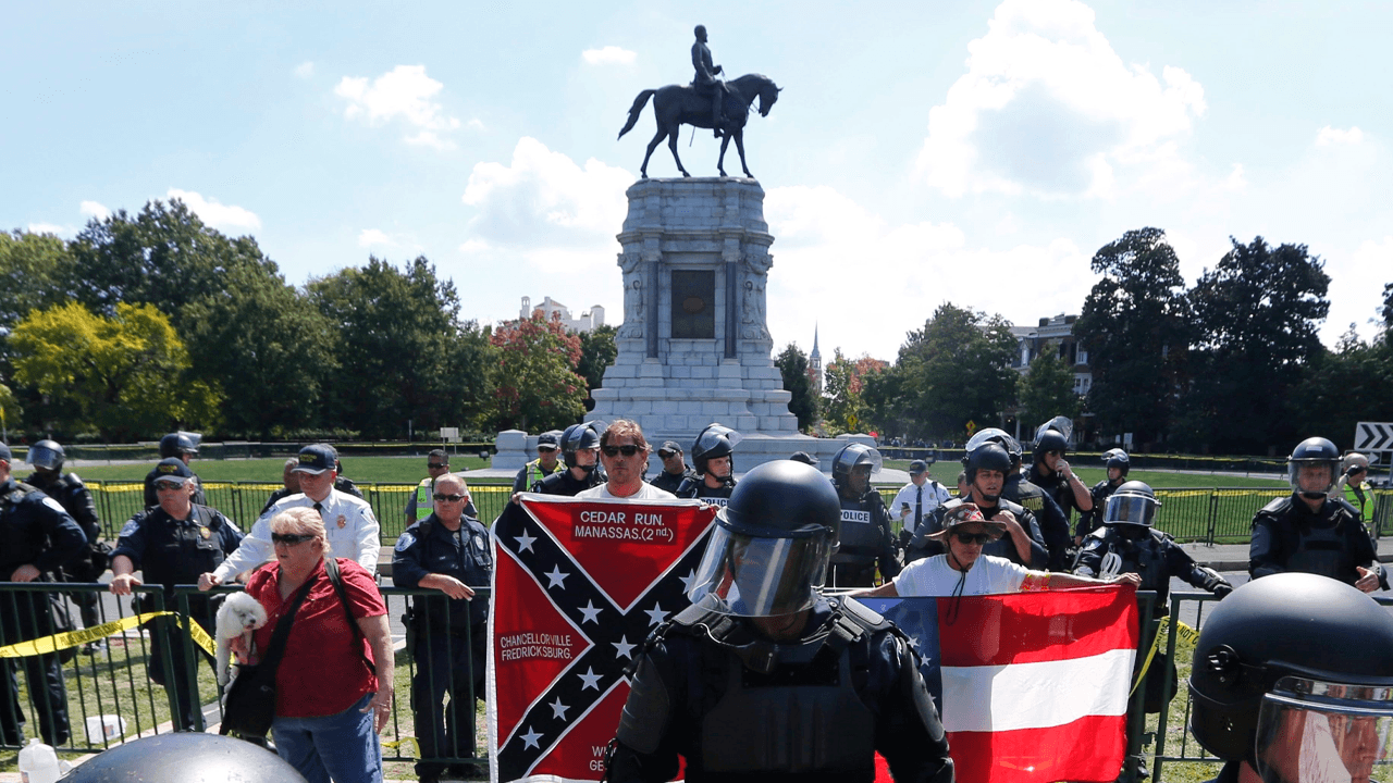 Confederate monuments will be taken down in Charlottesville almost four years after violent rally