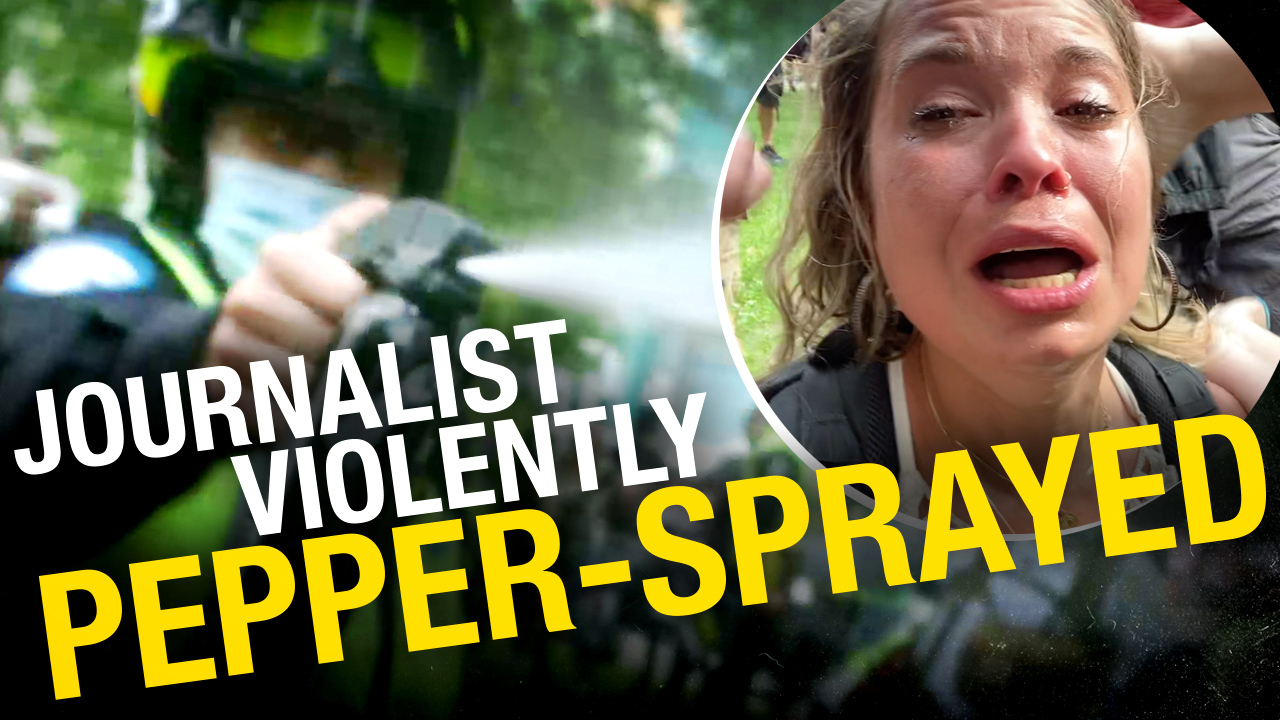 We're suing the Montreal police for assaulting another Rebel News reporter