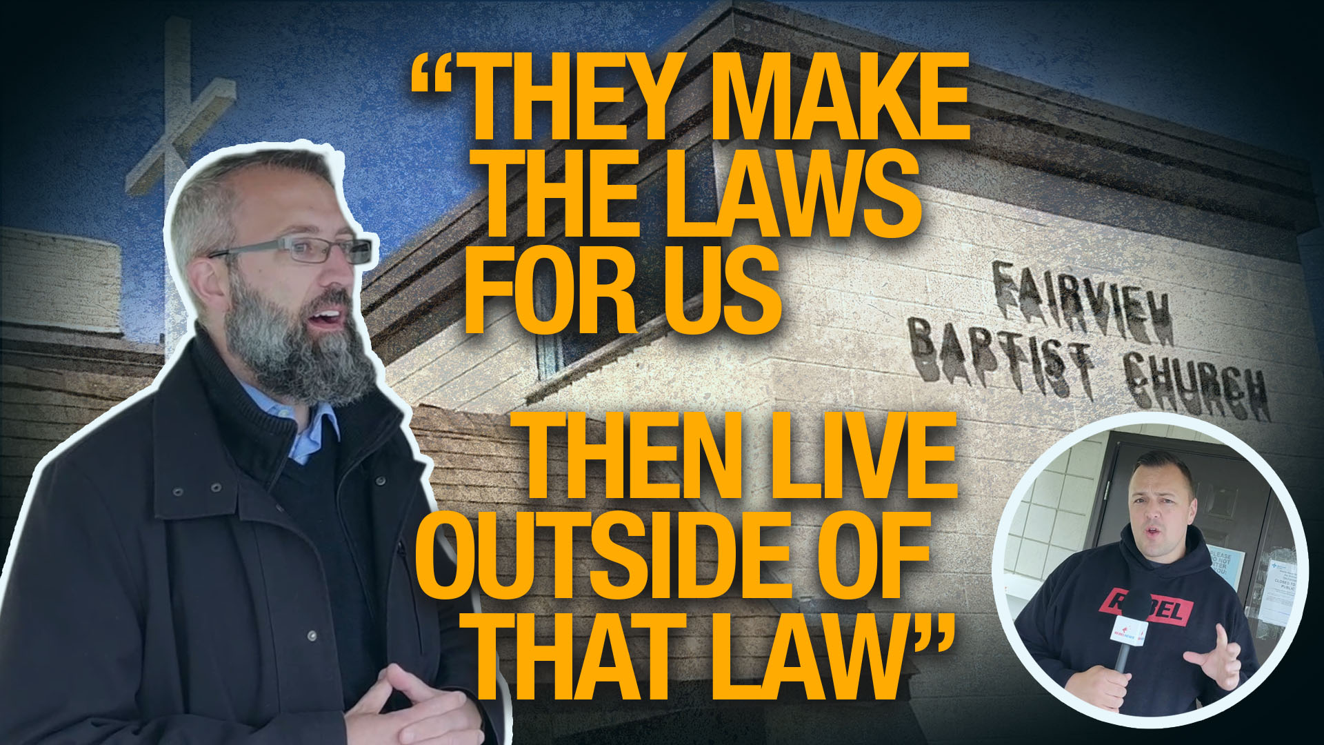 """""""They make the laws... but then they live outside the law"""" 