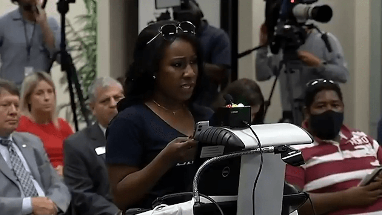 Black mom in Florida speaks out against Critical Race Theory