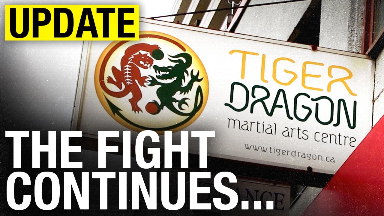 Tiger Dragon Martial Arts Centre still fighting for its life