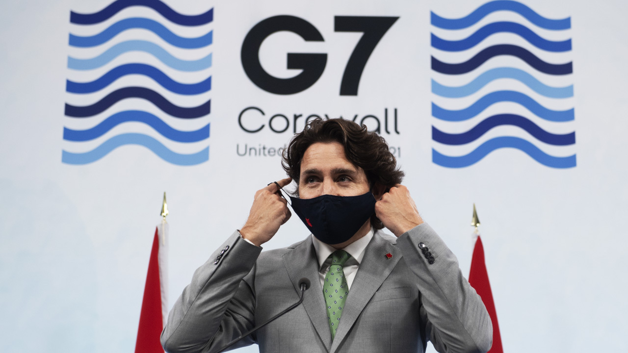 """Trudeau: Impacts of G7 """"felt for long after the newspapers you write for will have been used to wrap fish"""""""