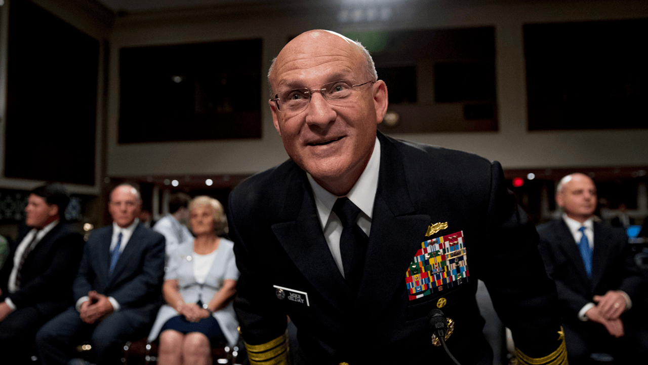 Top naval officer refuses to condemn conspiracy theory that white people created AIDS in hearing on critical race theory