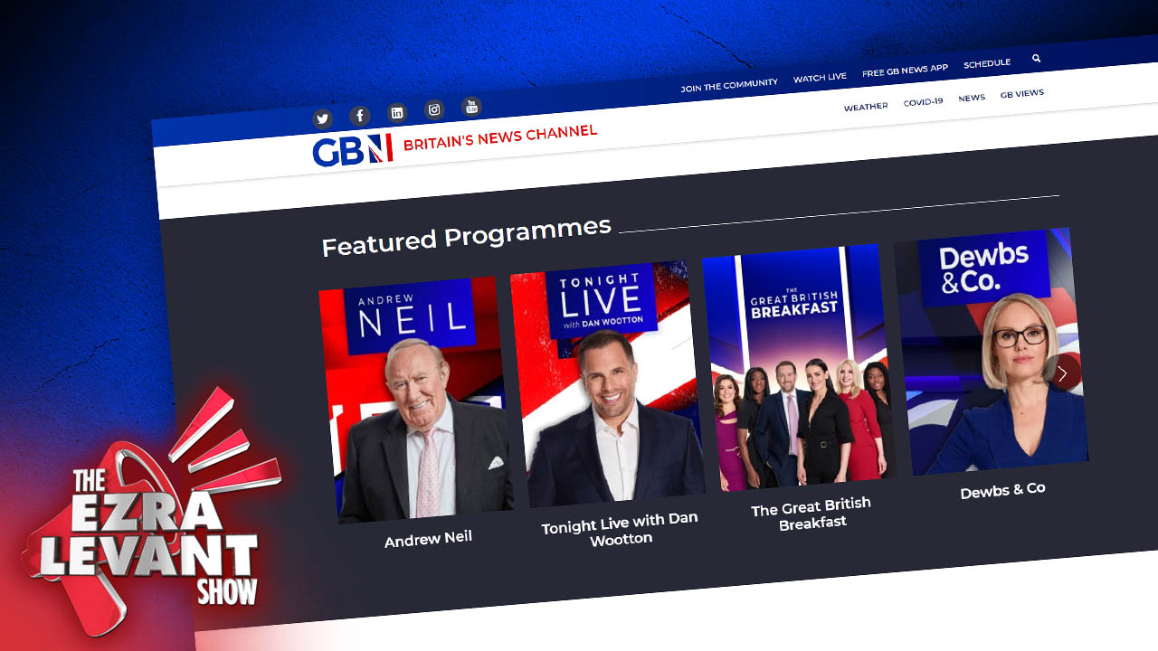 GB News fights back! Leftists struggle to cancel brand new UK news channel