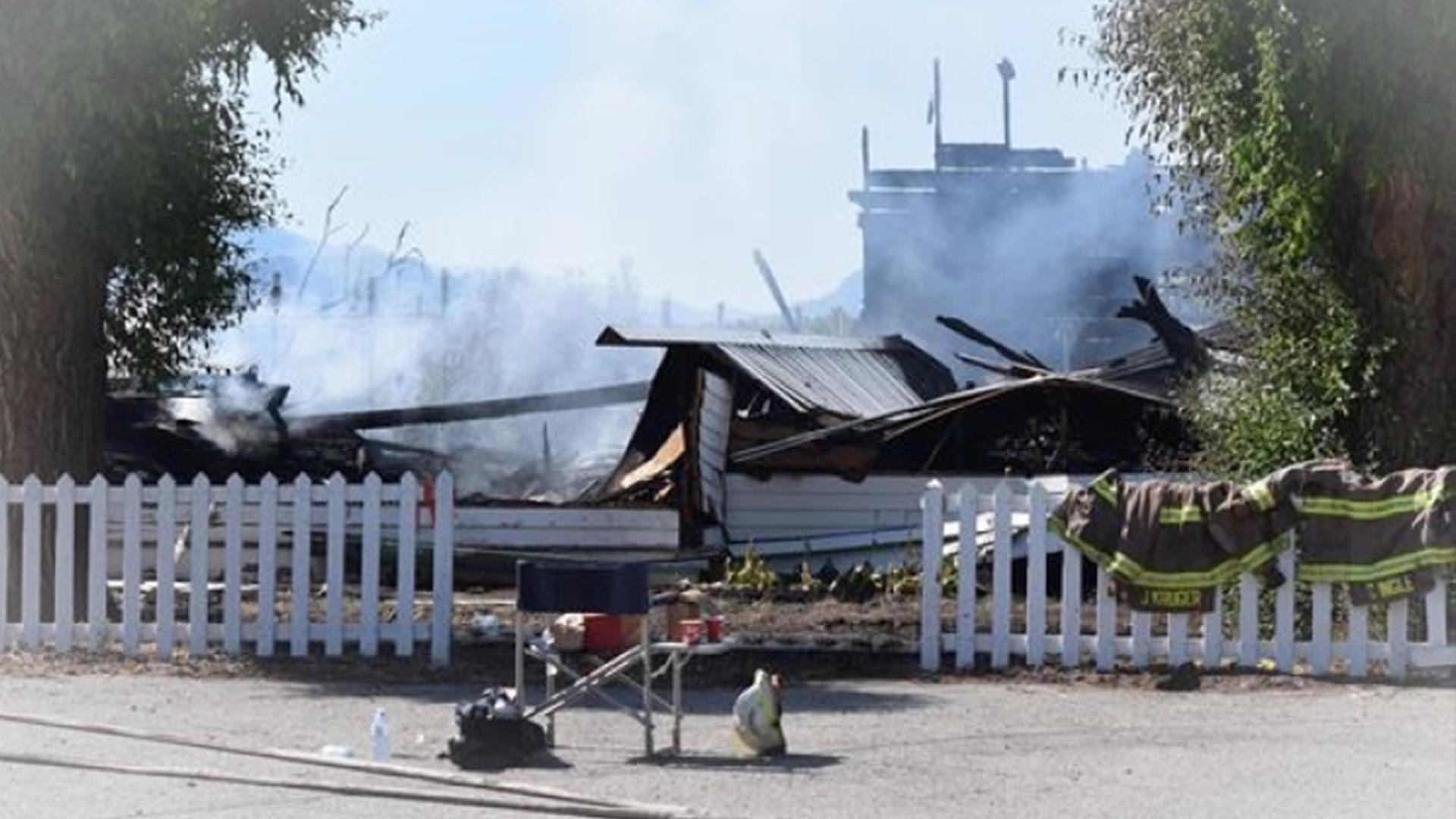 "Two Catholic churches burn in ""suspicious"" fires in South Okanagan"