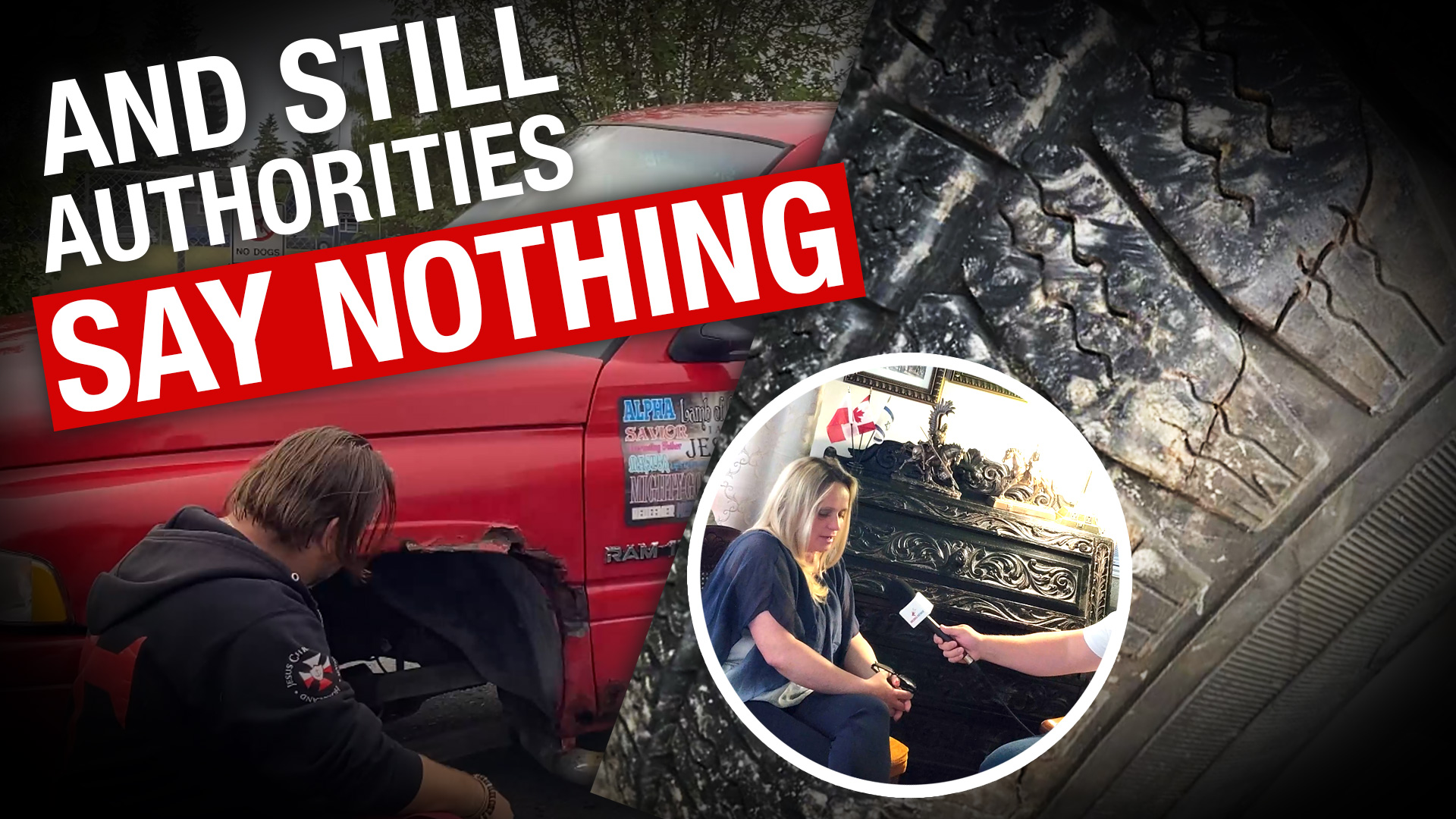 """""""Somebody wanted to kill us"""": Lug nuts allegedly loosened on Pastor Artur's truck"""