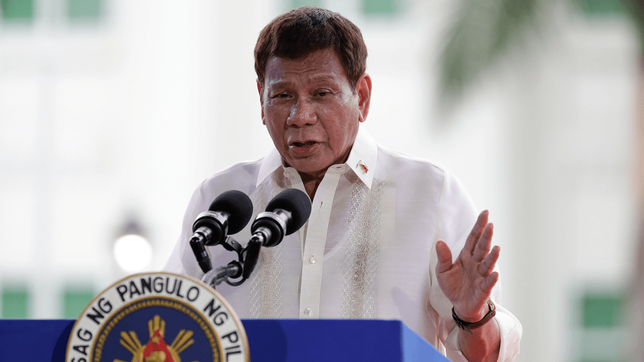 Philippines President Duterte threatens to jail citizens who don't get COVID vaccine