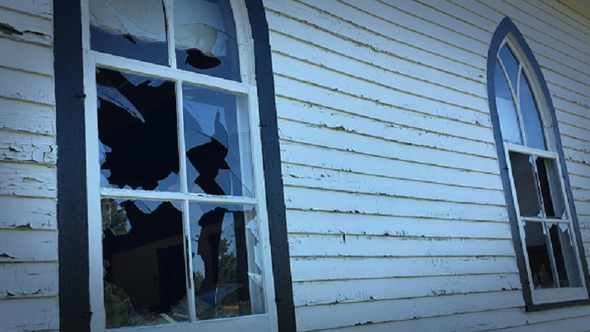 Residential school protest reportedly behind vandalism at decommissioned Mennonite church in Saskatchewan