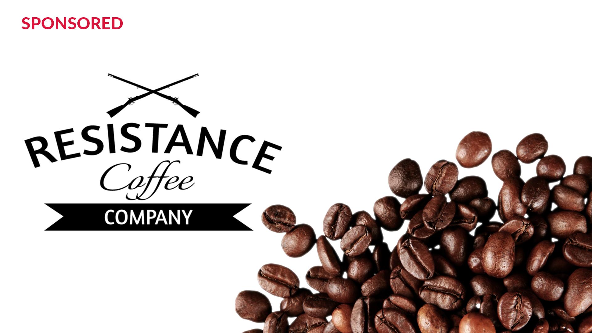 Resistance Coffee sponsored ad