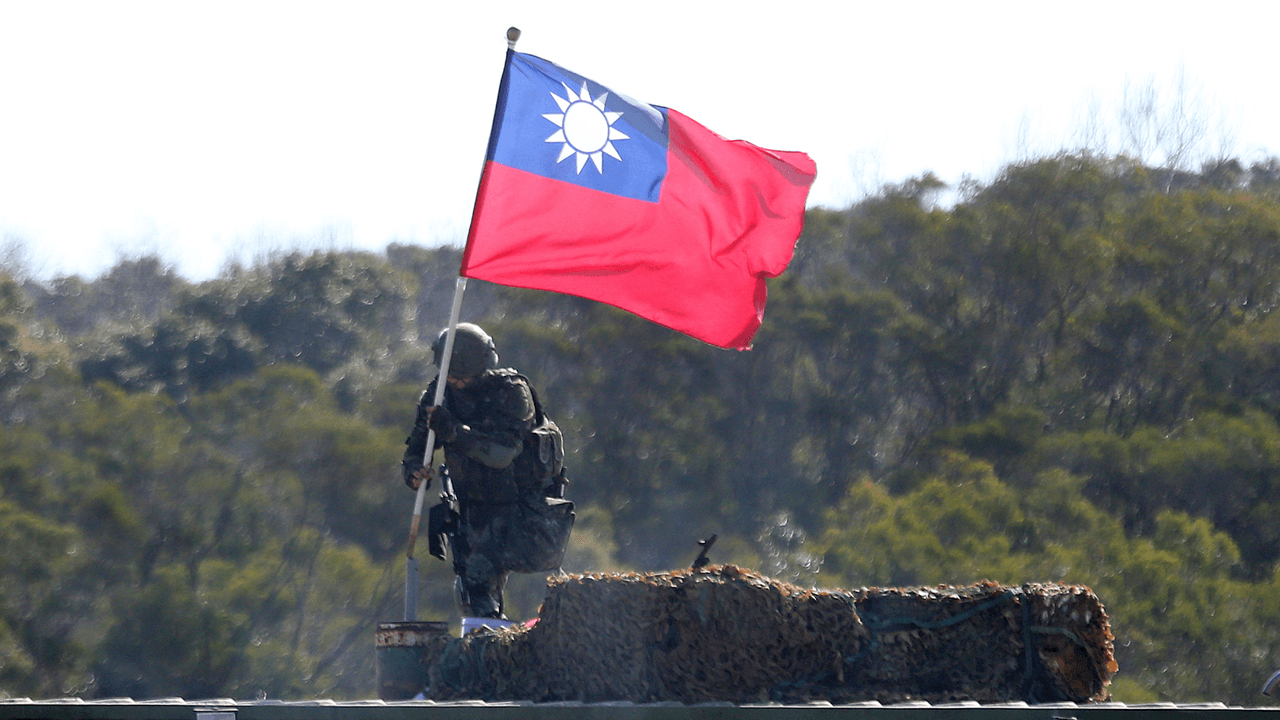 """Taiwanese foreign minister Joseph Wu: """"We have to be prepared"""" for war with China"""