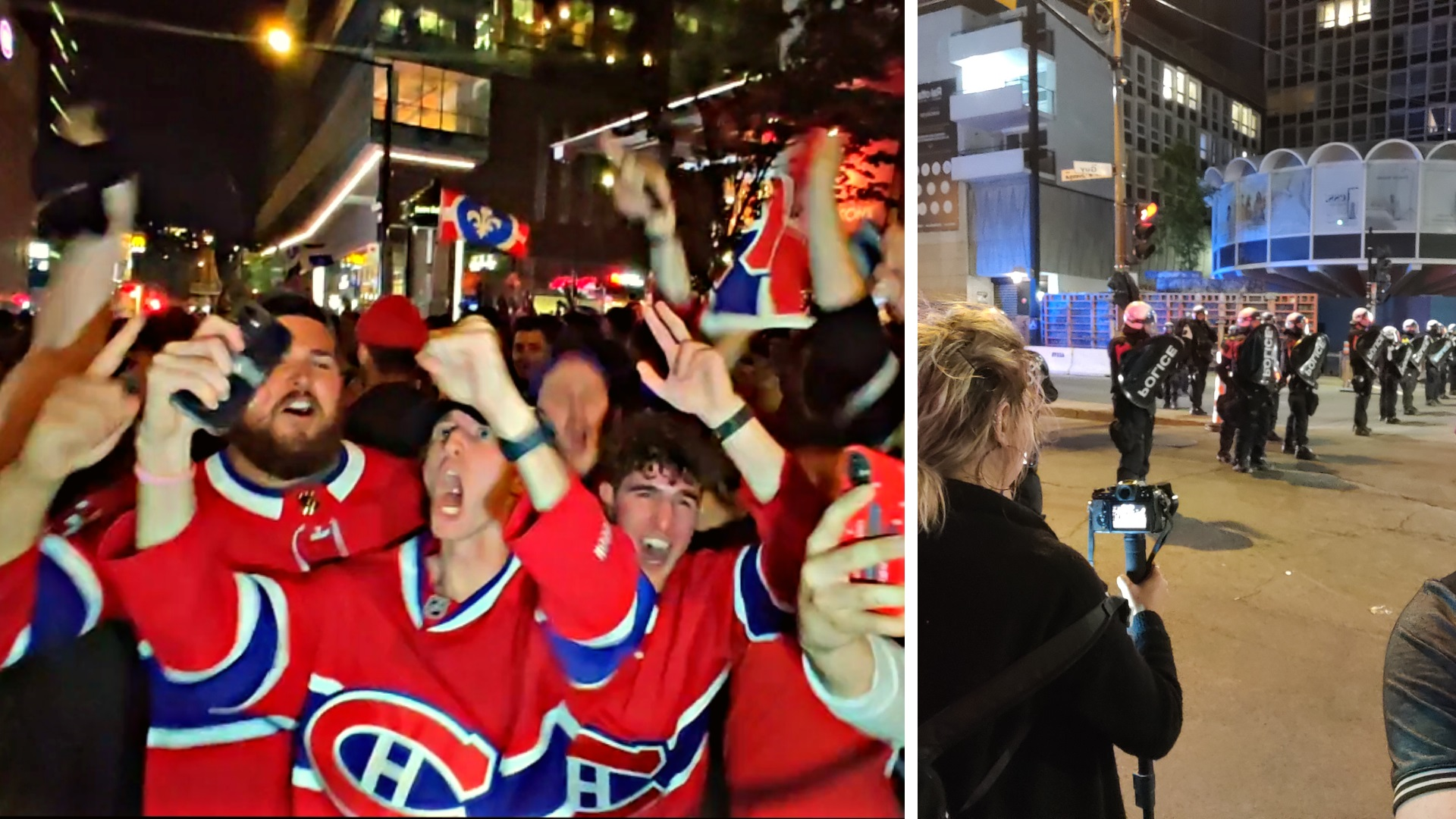 Canadiens advance to Stanley Cup finals, celebration turns into riot