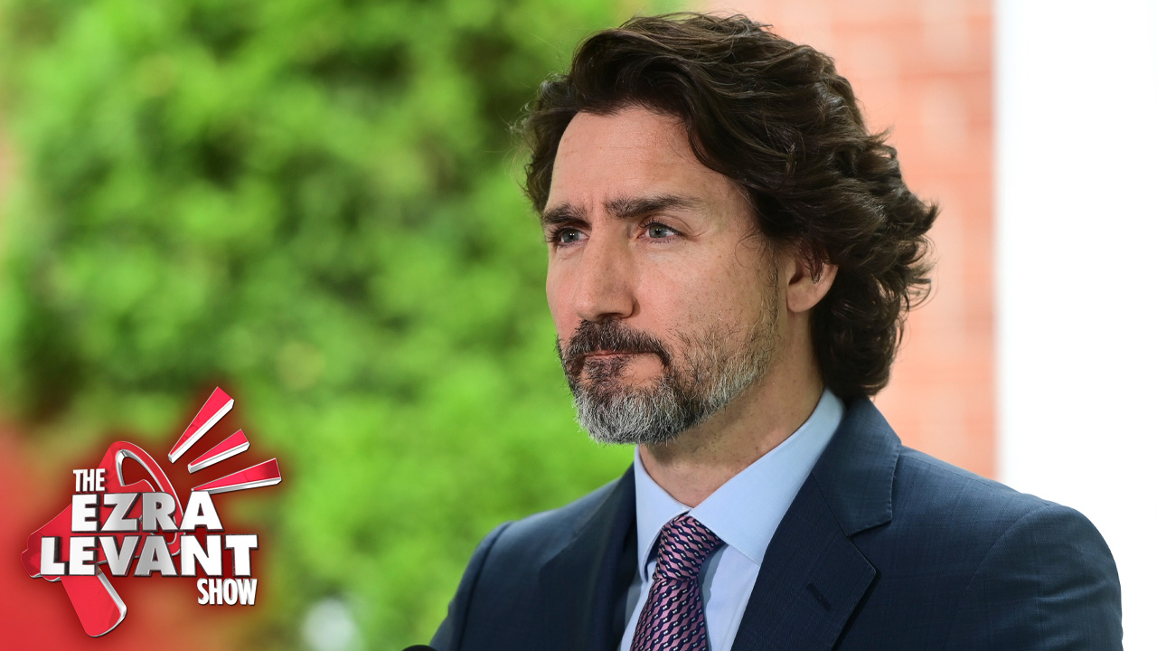 Erin O'Toole plays the role of happy loser, and so we're headed to Trudeau's third win