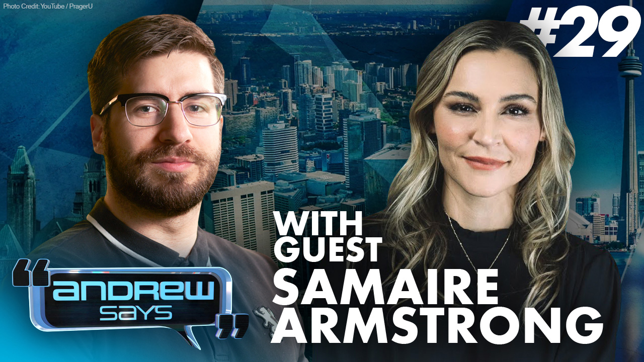 """""""Hollywood is designed to control narrative... it's programming."""" – Samaire Armstrong on Andrew Says #29"""