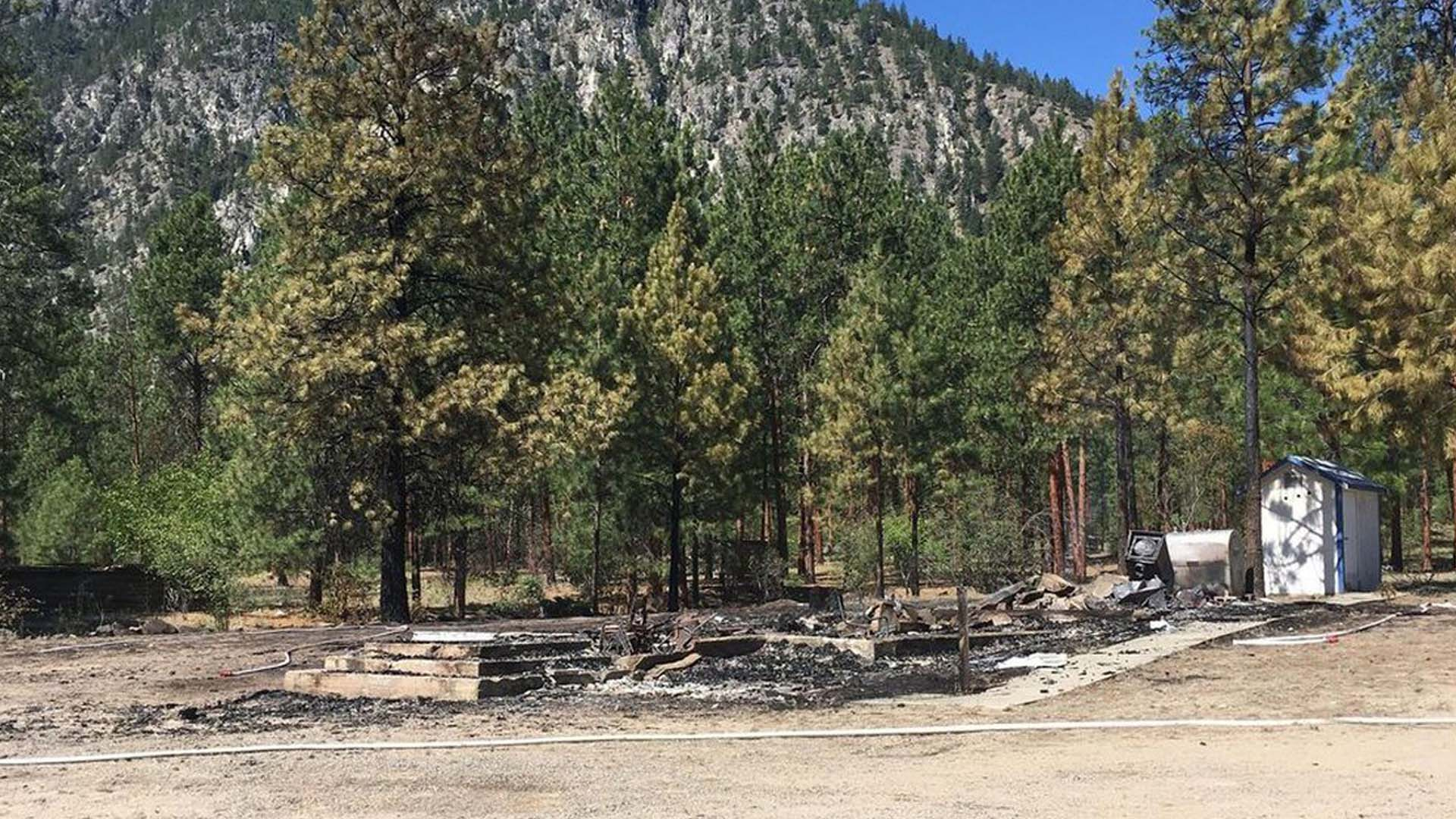 Upper Similkameen Indian Band condemns burning ofSt. Anne's Catholic Church at Chuchuwayha