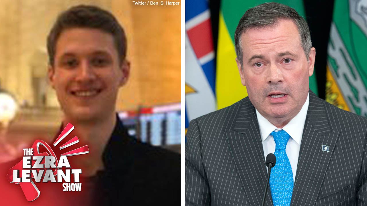 Stephen Harper's son says I should show more class, stop criticizing Jason Kenney