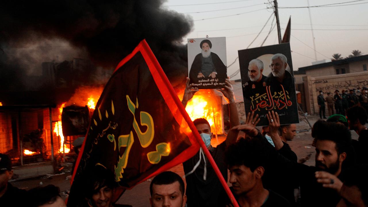 "Iran-backed militia in Iraq vows to attack U.S. in ""open war"" in retaliation for American airstrikes"