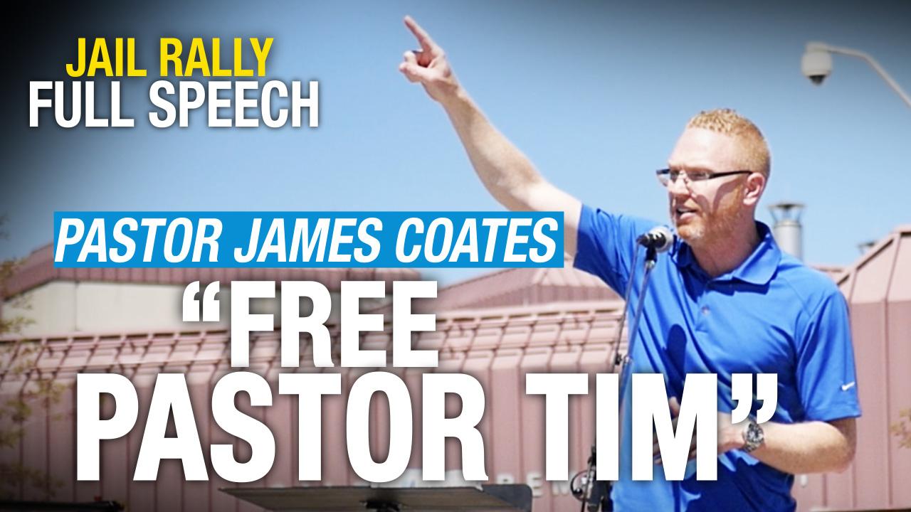 RAW: Pastor James Coates shares prayer for jailed Pastor Tim Stephens