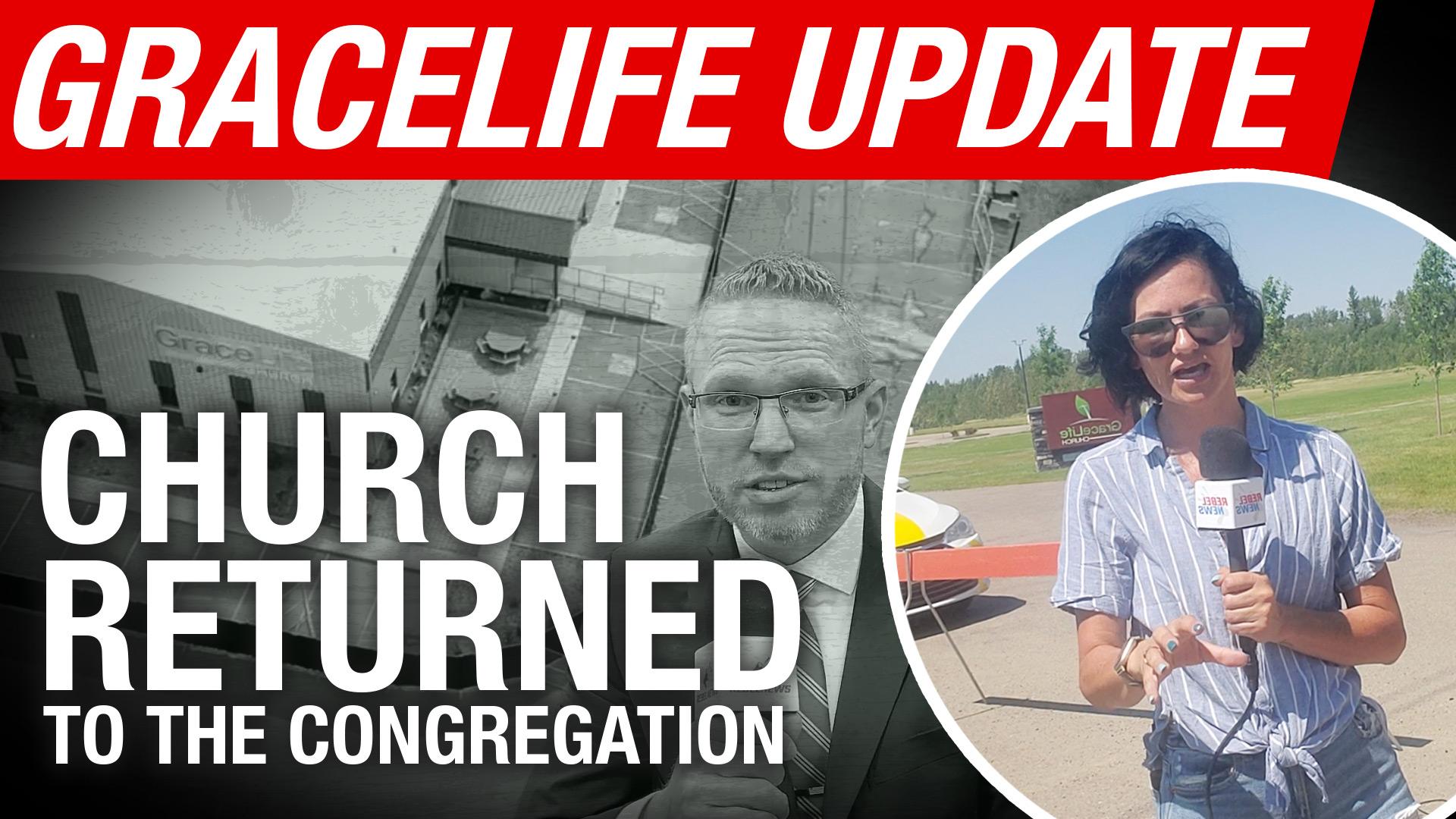 UPDATE: Gracelife fences taken down early