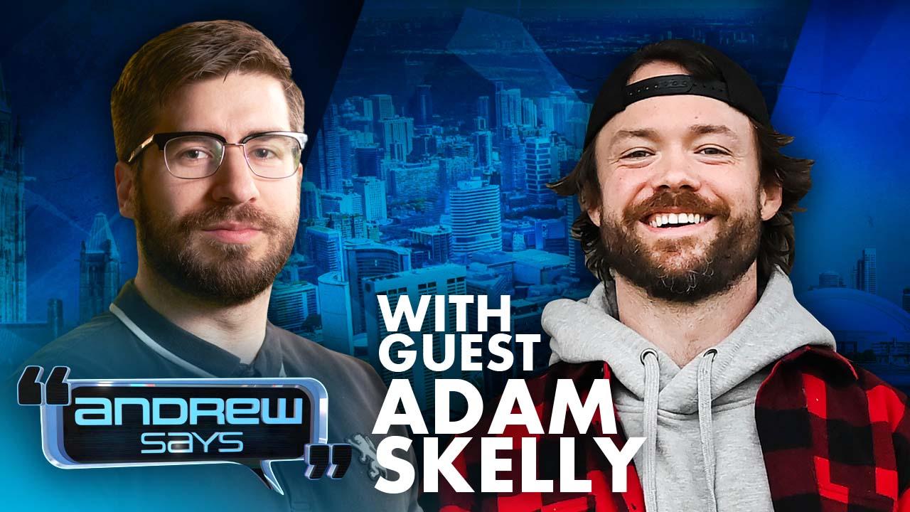 Adam Skelly vs. Everybody | (Adamson BBQ) Andrew Says 30