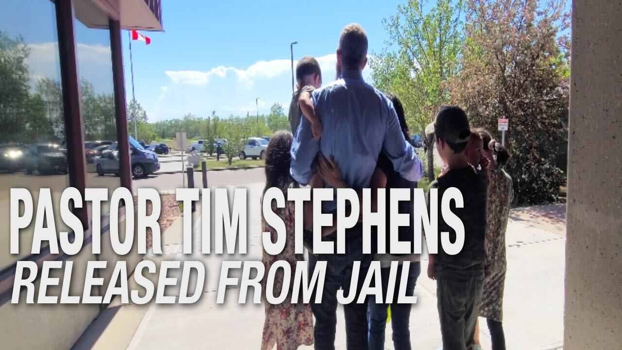 EXCLUSIVE INTERVIEW: Pastor Tim Stephens Released From Calgary Remand Centre