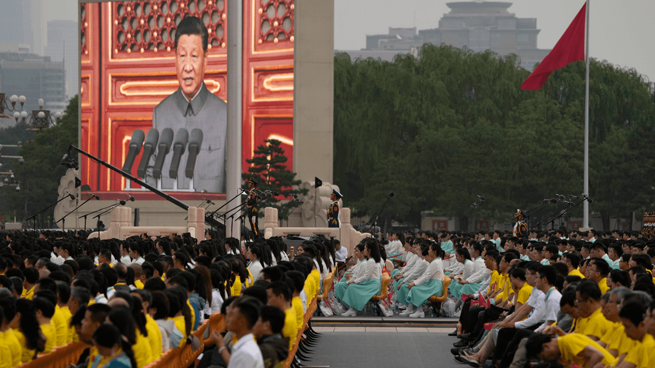 Xi Jinping celebrates 100 years of the Chinese Communist Party with a promise to retake Taiwan