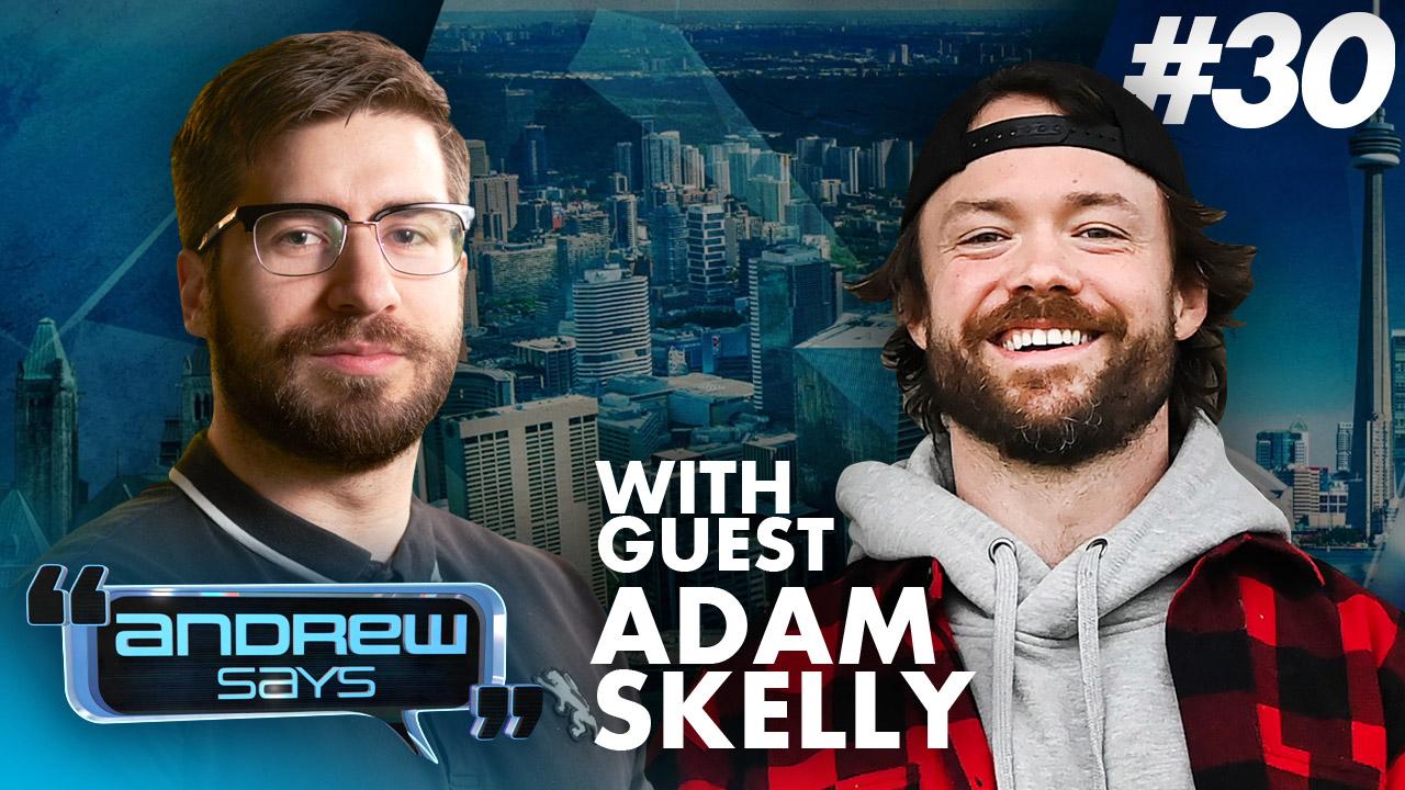Adam Skelly (Adamson BBQ) vs. Everybody | Andrew Says #30