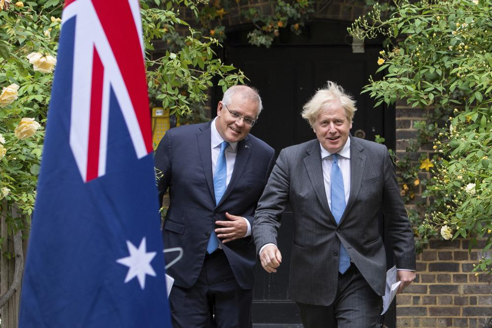 Boris VS Scomo - The UK breaks FREE while Australia remains prisoner