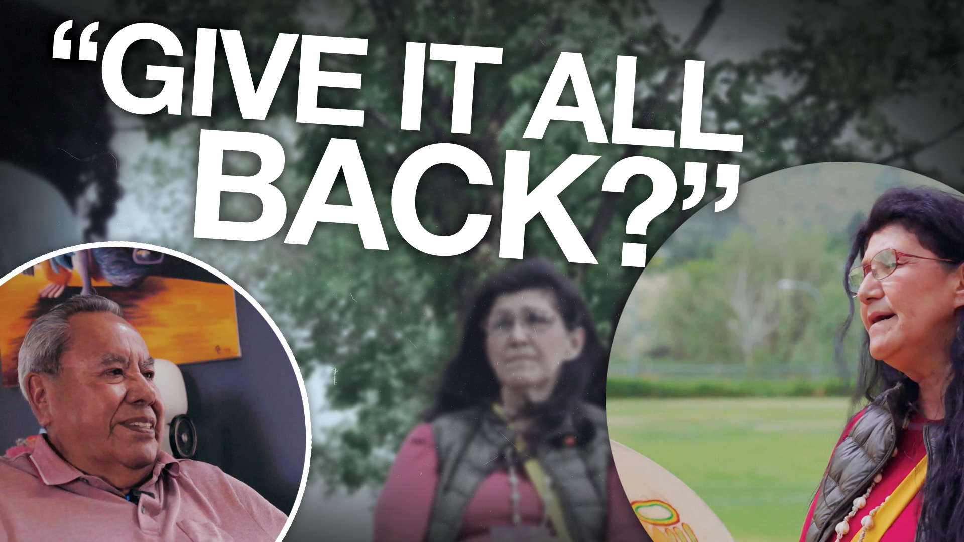 """""""This is our land"""": Activist calls for non-indigenous Canadians to surrender their land"""