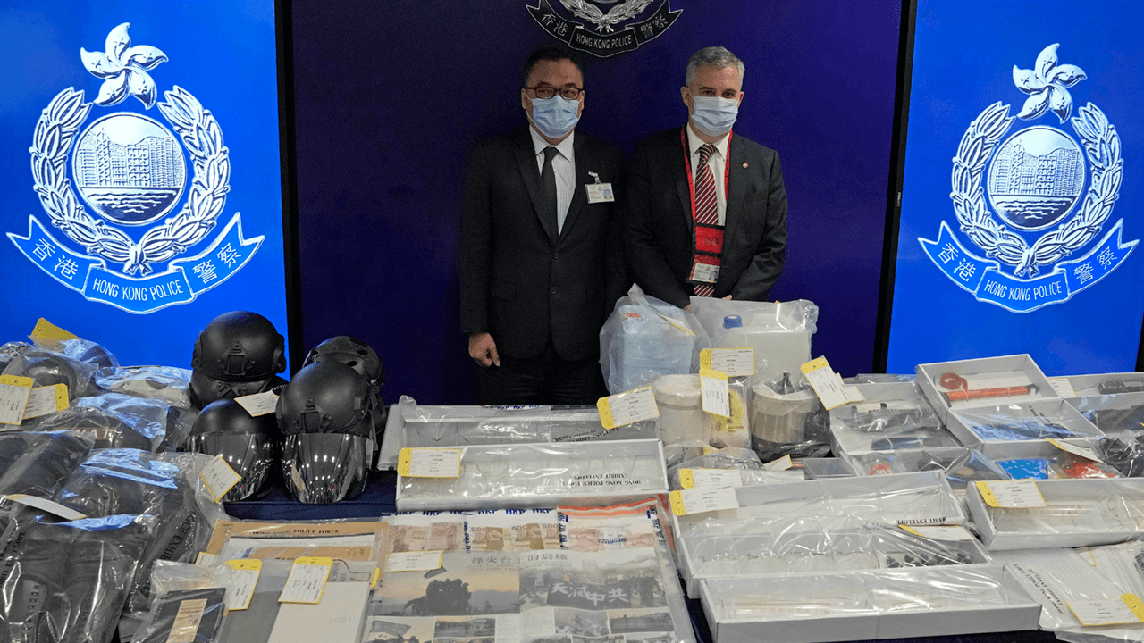 Nine Hong Kong residents, including six teenagers, arrested for alleged bomb plot