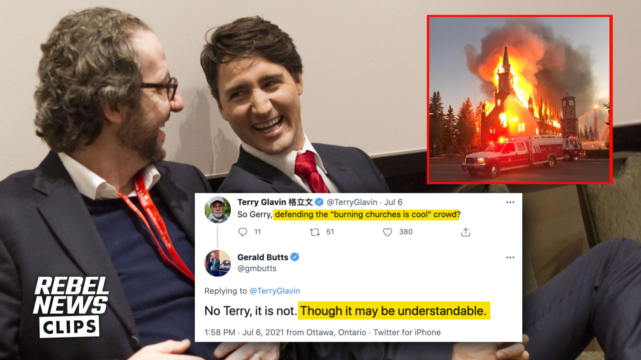 """Trudeau's former sidekick says burning down churches is """"understandable"""""""