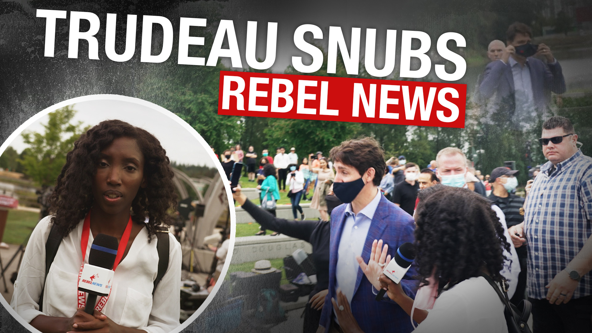 Trudeau ignores reporter's question on the burning and vandalizing of over 20 churches in 3 weeks