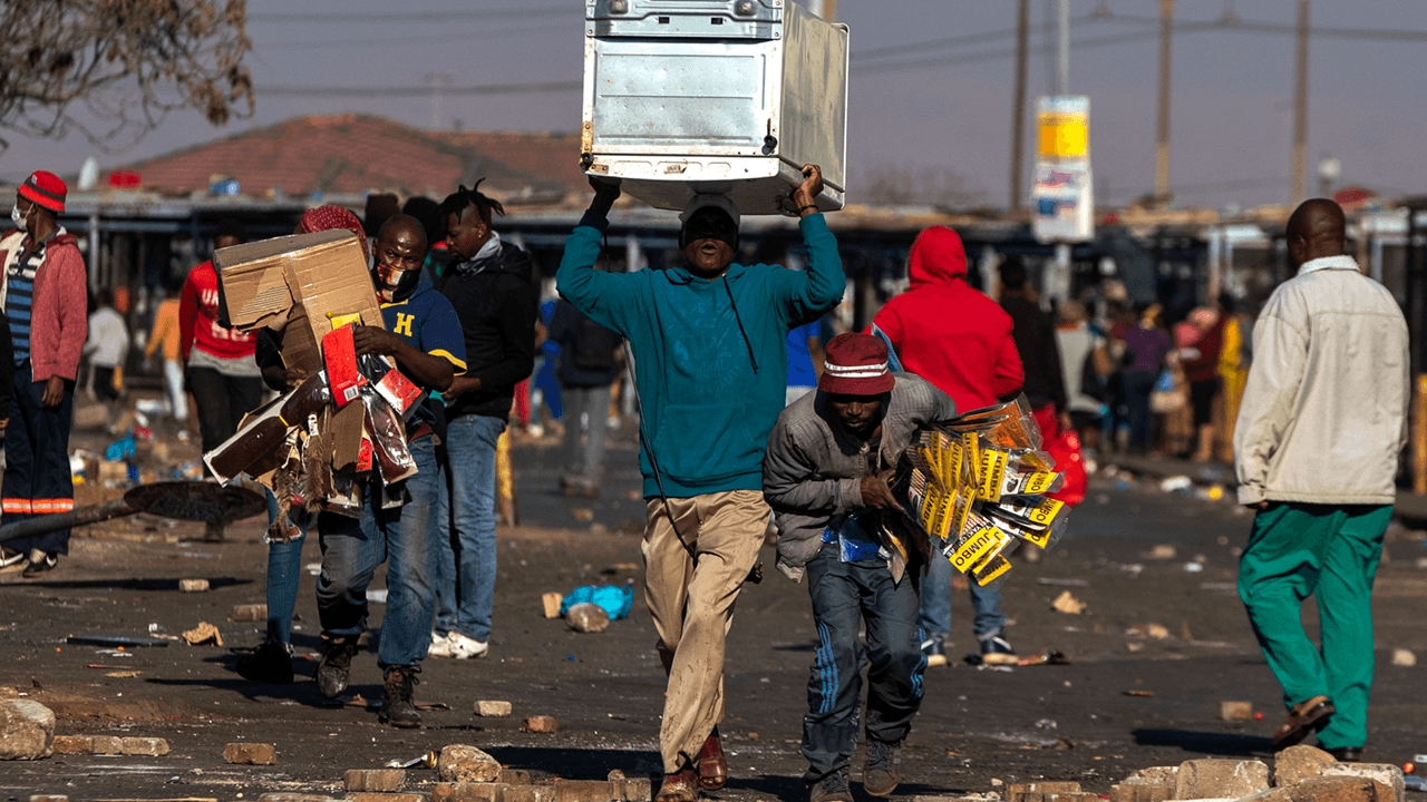 Riots across South Africa intensify after jailing of former leader Jacob Zuma
