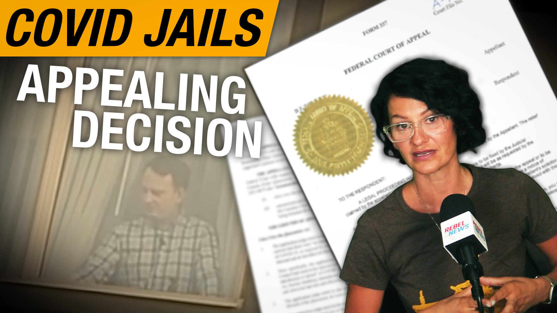 BREAKING: Rebel News is appealing Federal Court decision to keep Justin Trudeau's COVID jail system in place
