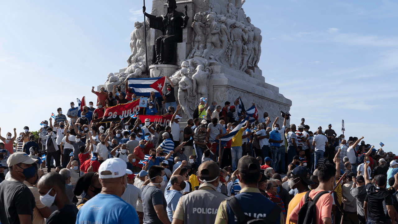 Cuban government using Chinese technology to block internet access during anti-regime protests