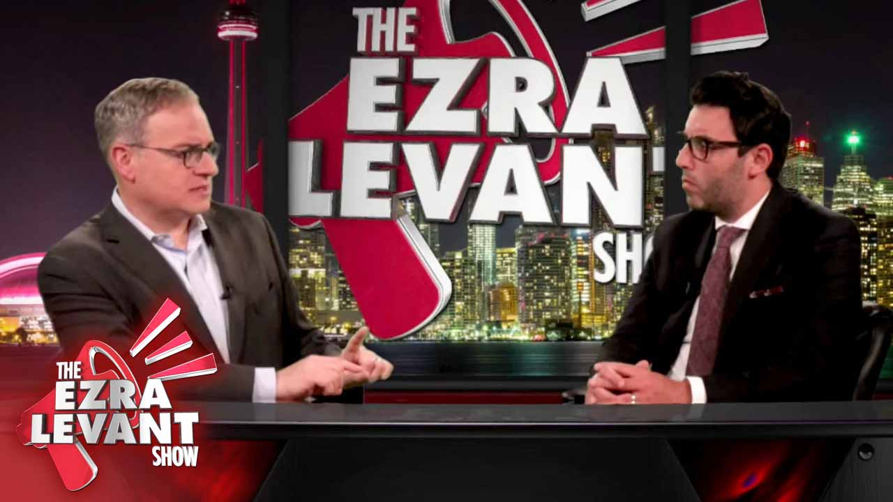 Lawyer Aaron Rosenberg REACTS to hidden camera footage of Trudeau government censors interrogating Ezra Levant over writing a book