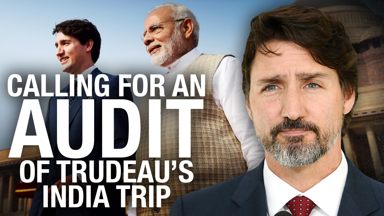 Formal complaint submitted to Auditor General over Trudeau India trip